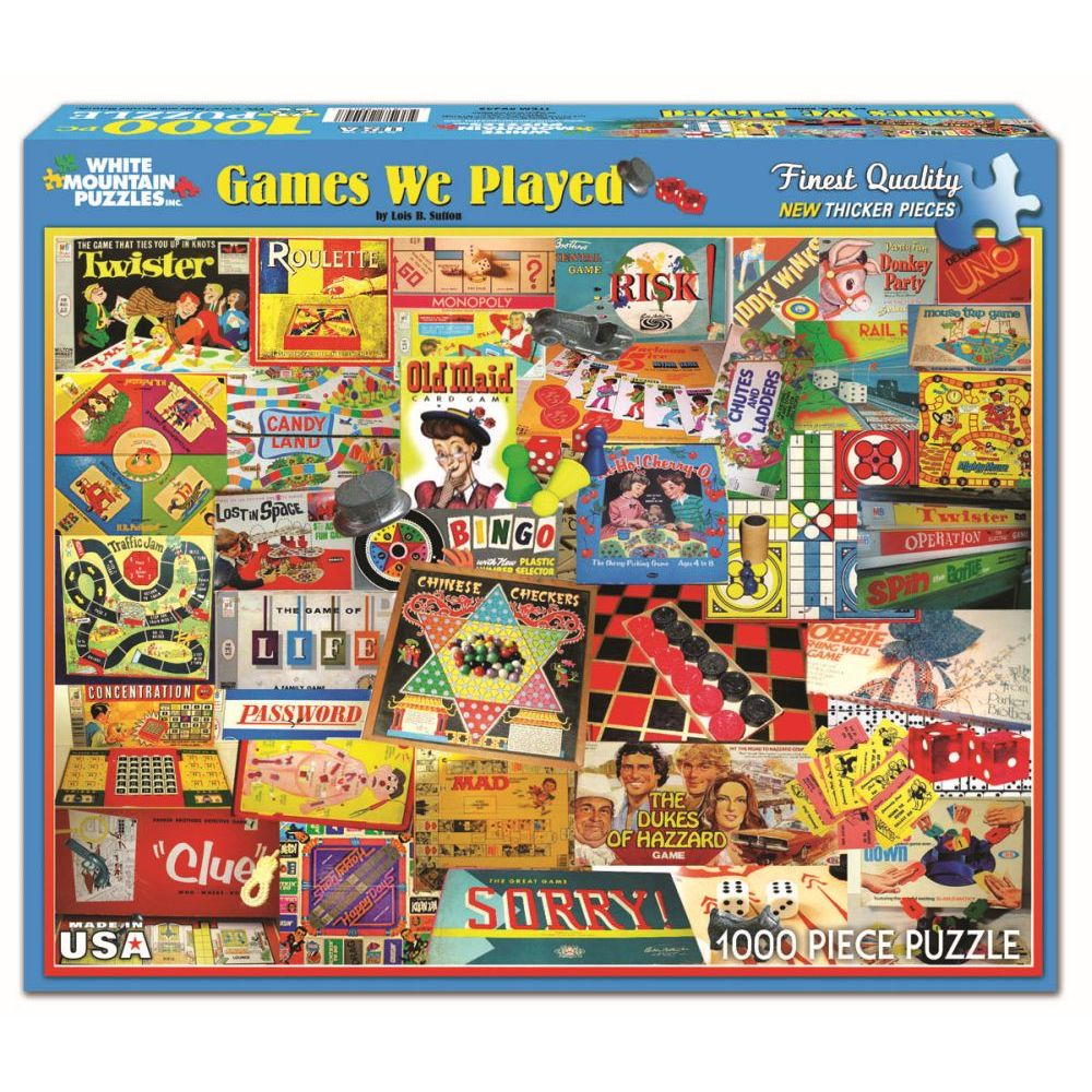 Best Games We Played 1000 Piece Puzzle You Can Buy