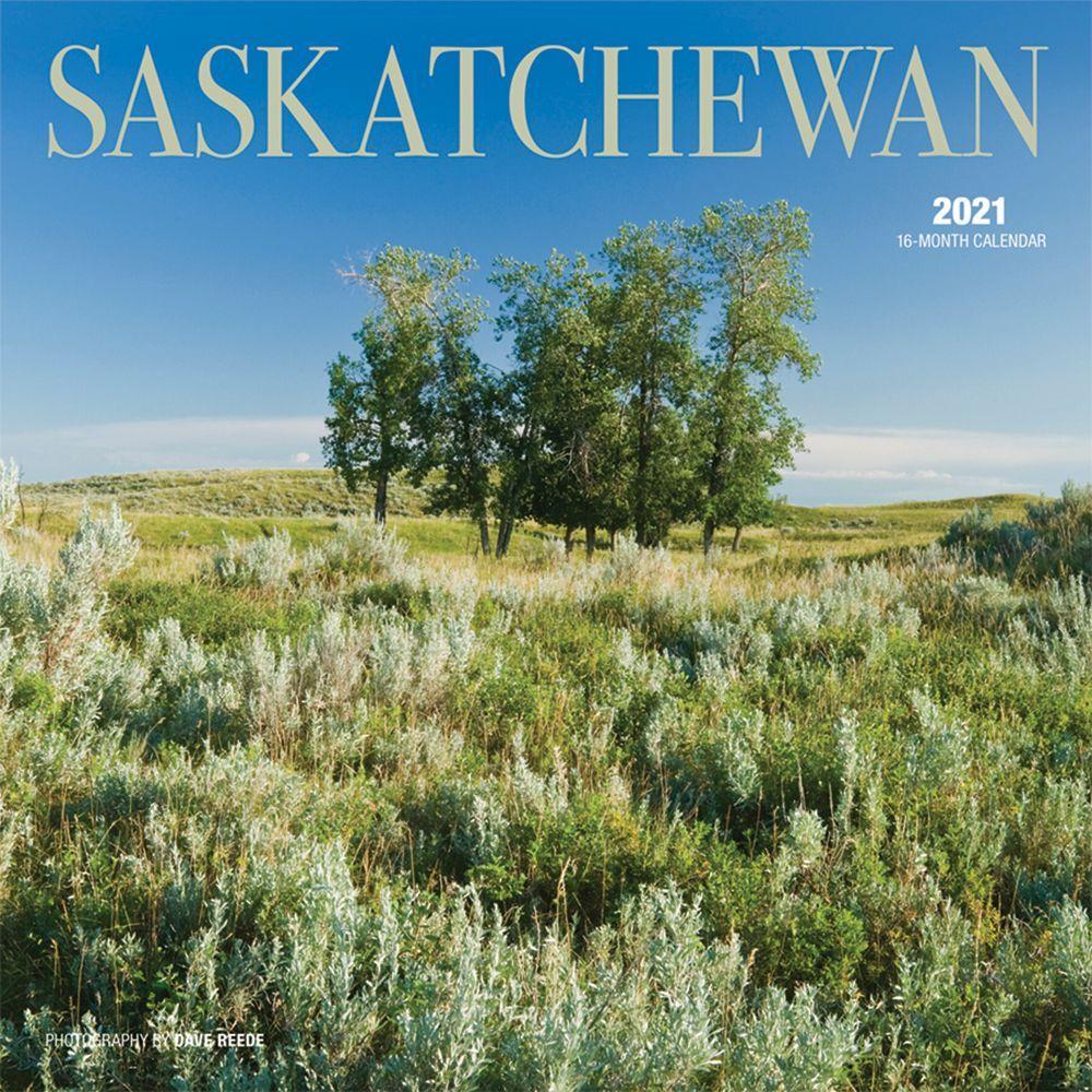 2021 Saskatchewan Wall Calendar