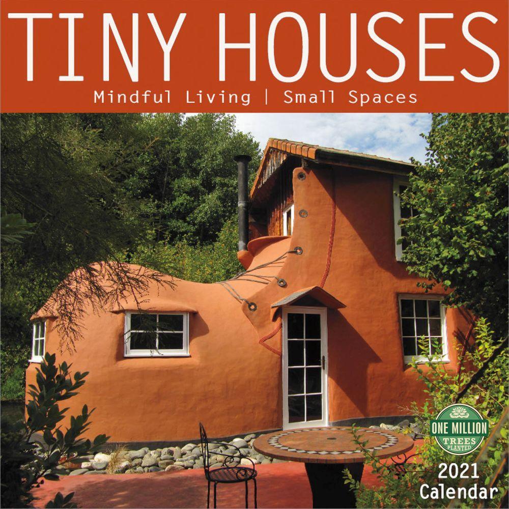 2021 Tiny Houses Wall Calendar