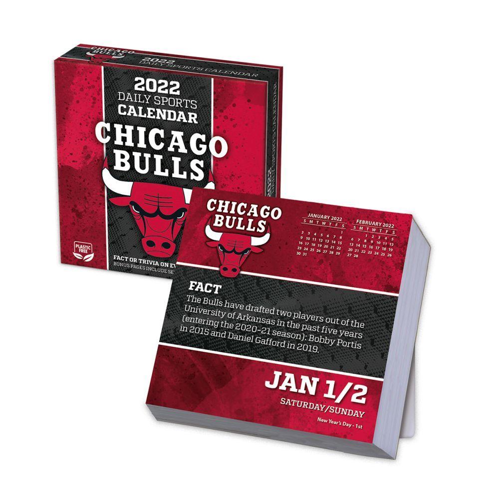 Chicago Bulls 2022 Desk Calendar