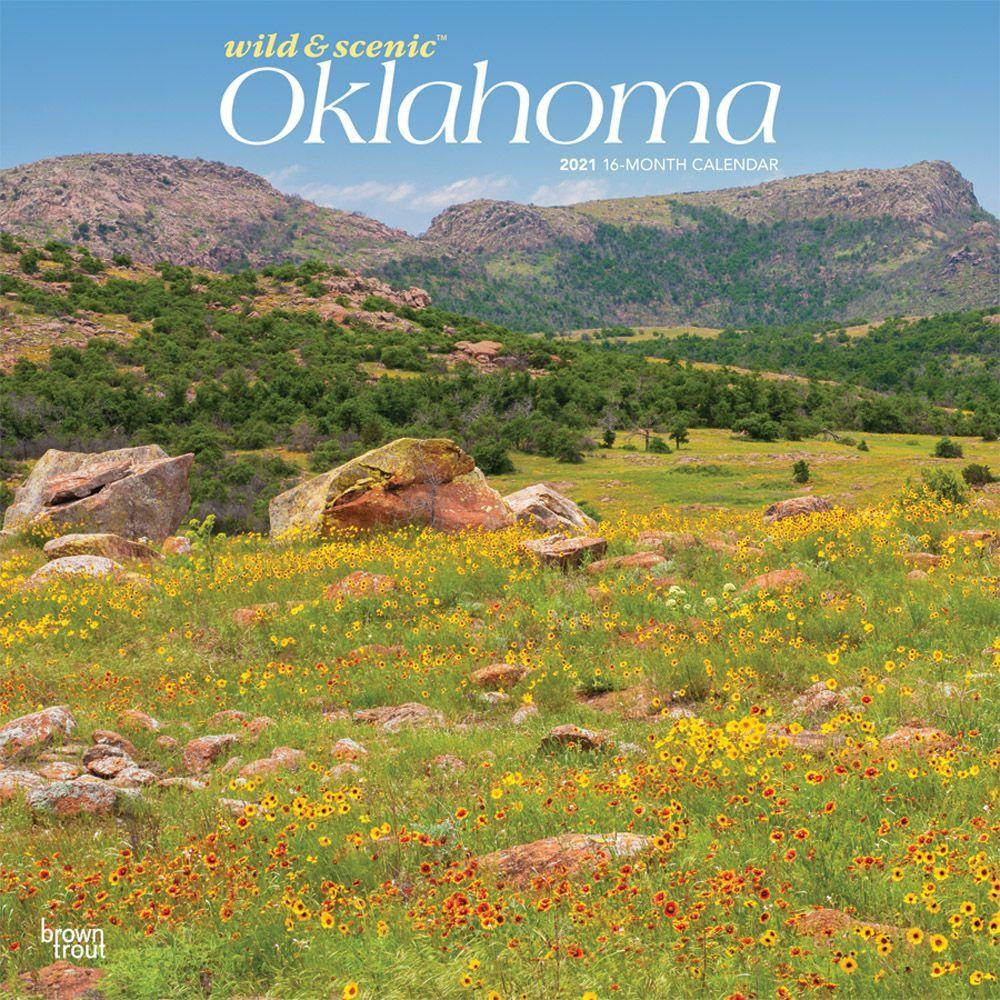 Oklahoma Wild & Scenic 2021 Wall Calendar