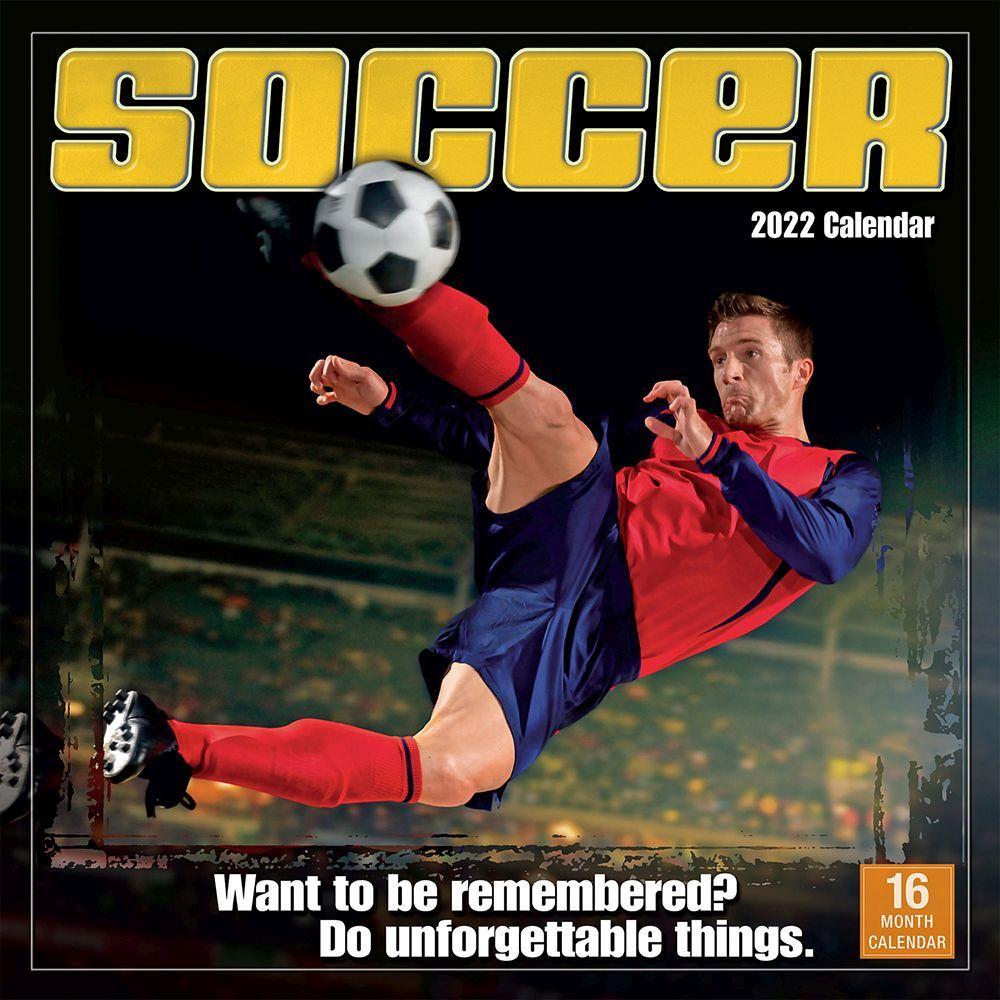Soccer 2022 Wall Calendar