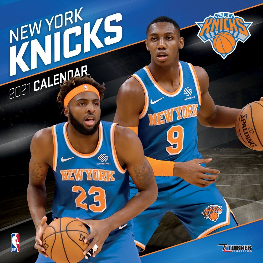 Best 2021 NBA New York Knicks Wall Calendar