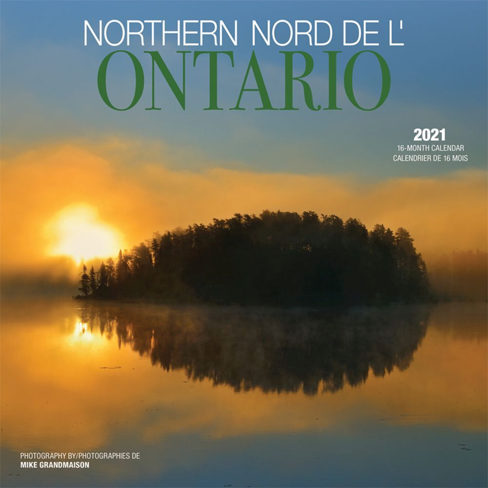 2021 Ontario Northern Wall Calendar