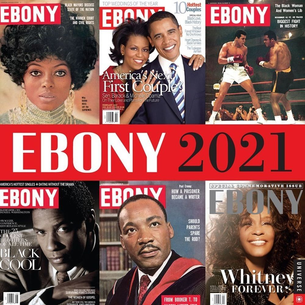 2021 Ebony Wall Calendar