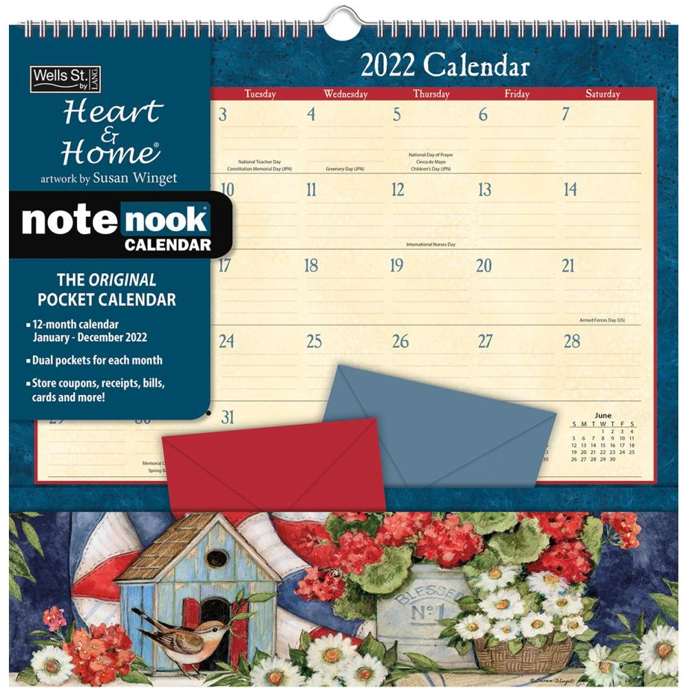 Heart and Home 2022 Note Nook
