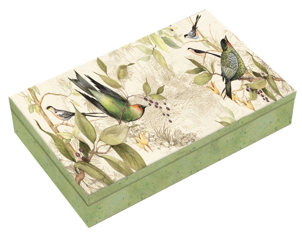 Tropical-Birds-Domino-Set-3