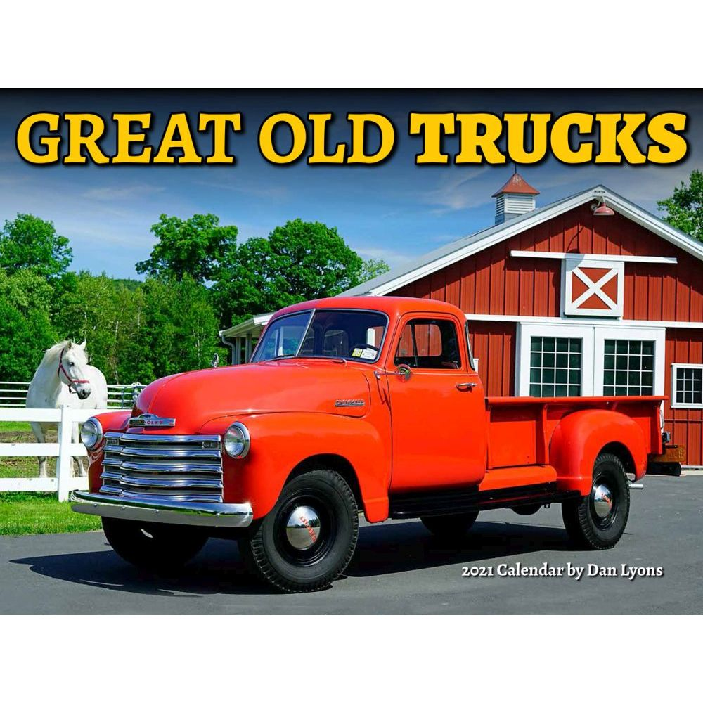 2021 Great Old Trucks Wall Calendar