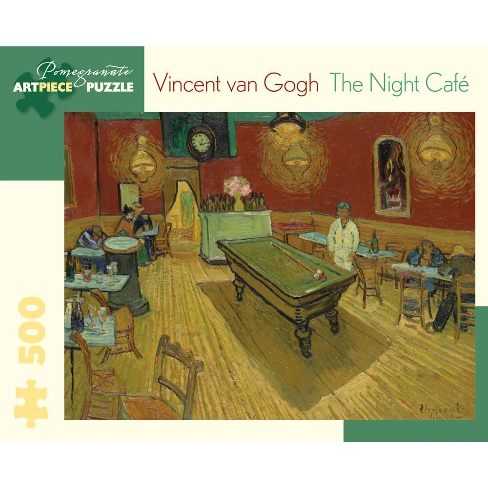 Best Vincent van Gogh The Night Cafe 500 pc Puzzle You Can Buy