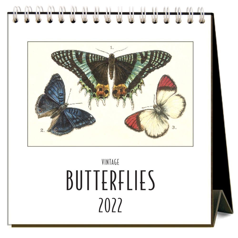 Butterflies 2022 Desk Calendar