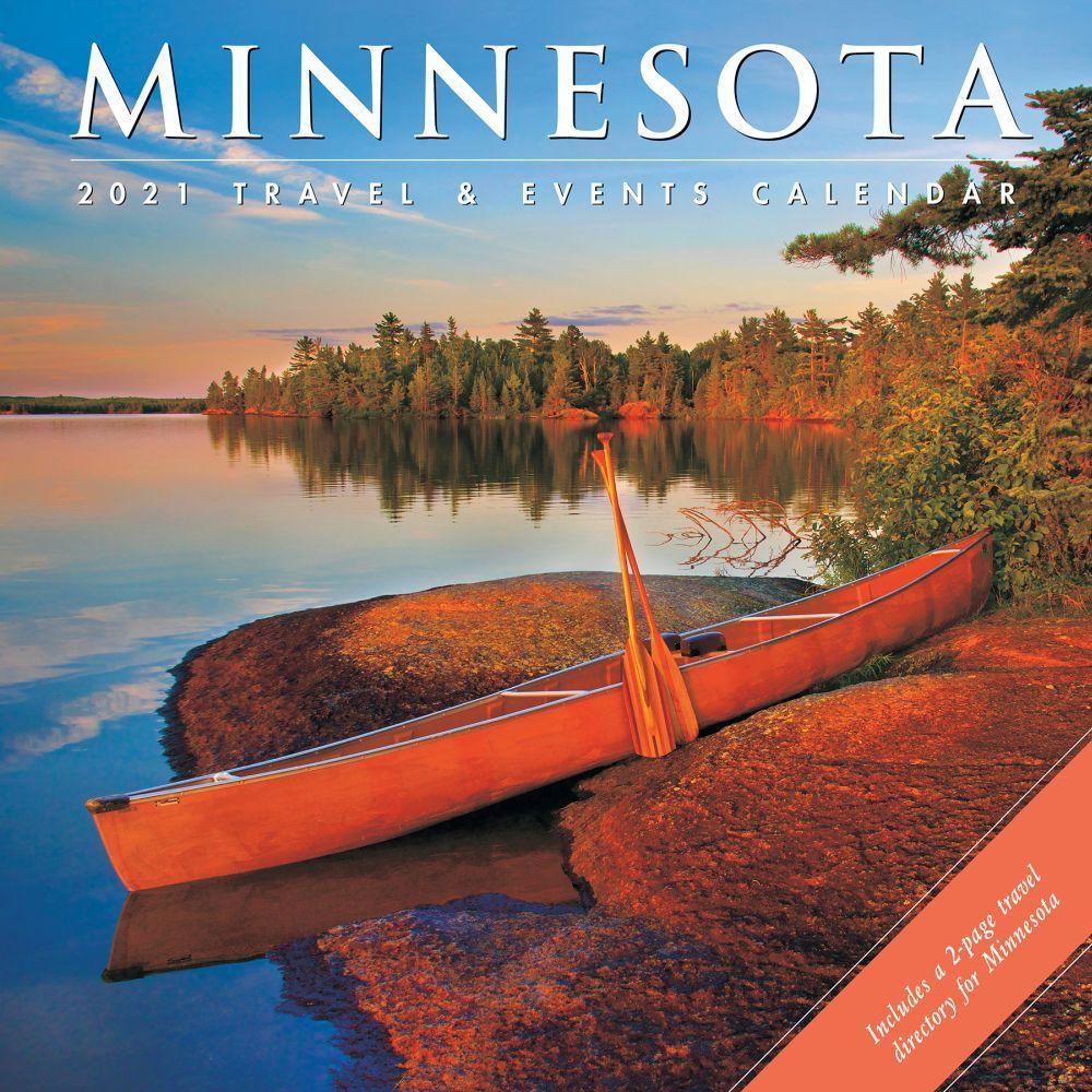 Minnesota Travel & Events Wall Calendar