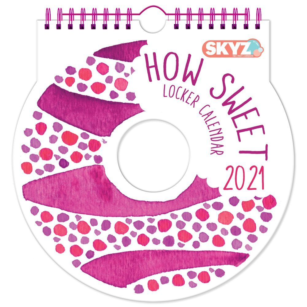 2021 How Sweet Locker Calendar by Cat Coquillette