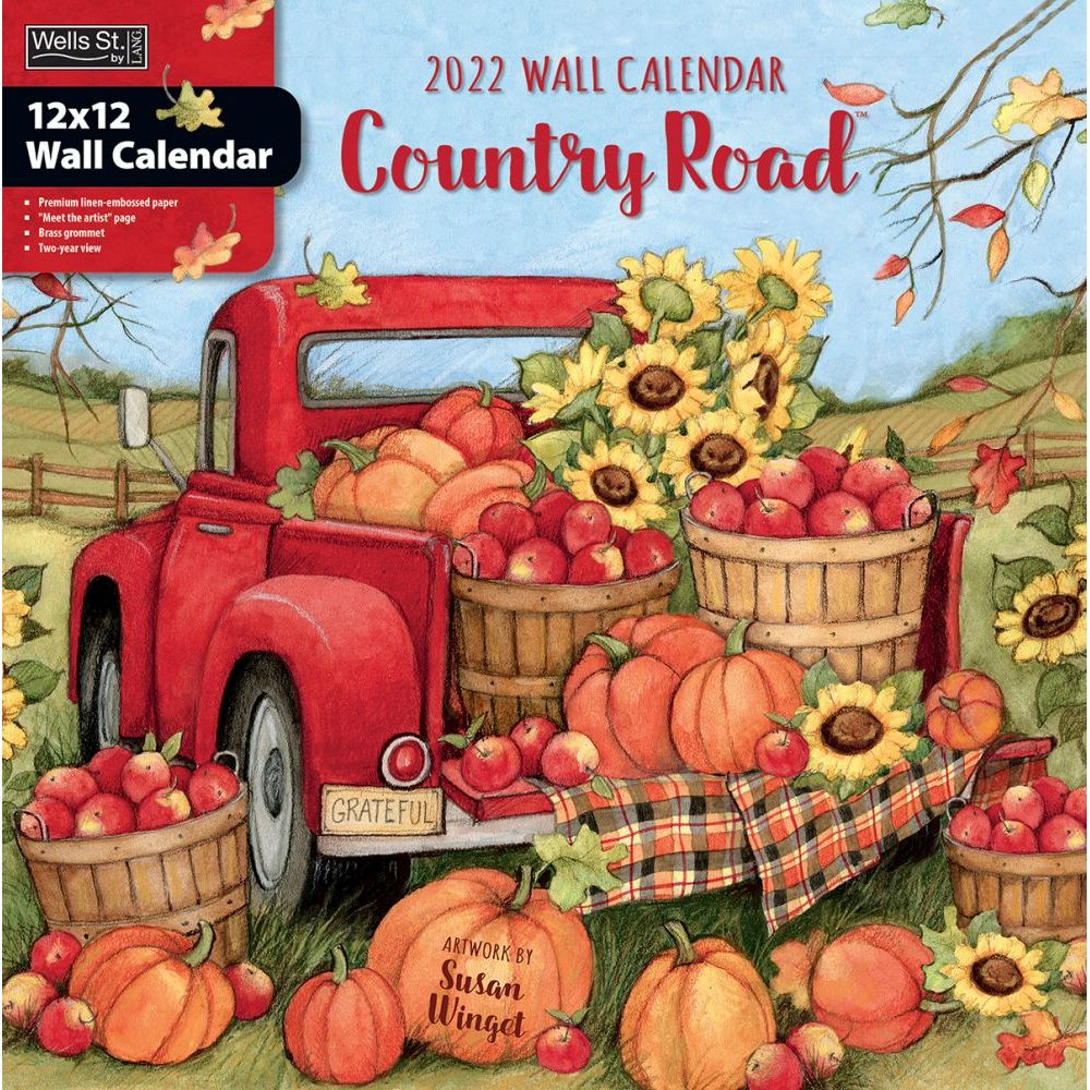 Country Road 2022 Wall Calendar