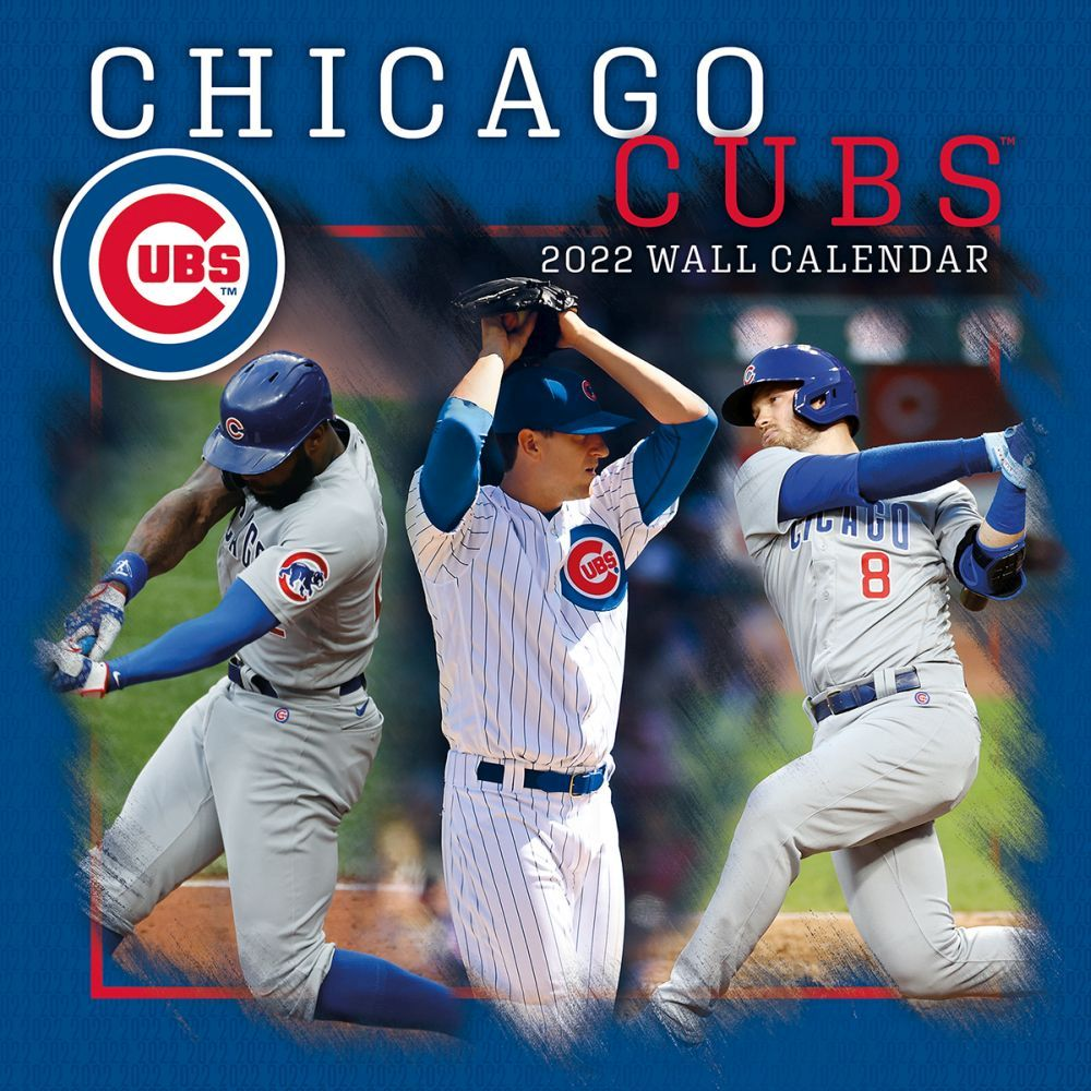 Chicago Cubs 2022 Wall Calendar