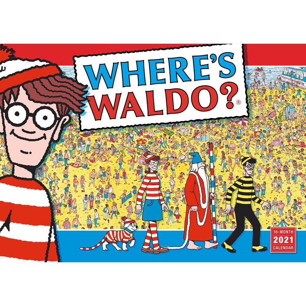 Where's Waldo 2021 Wall Calendar