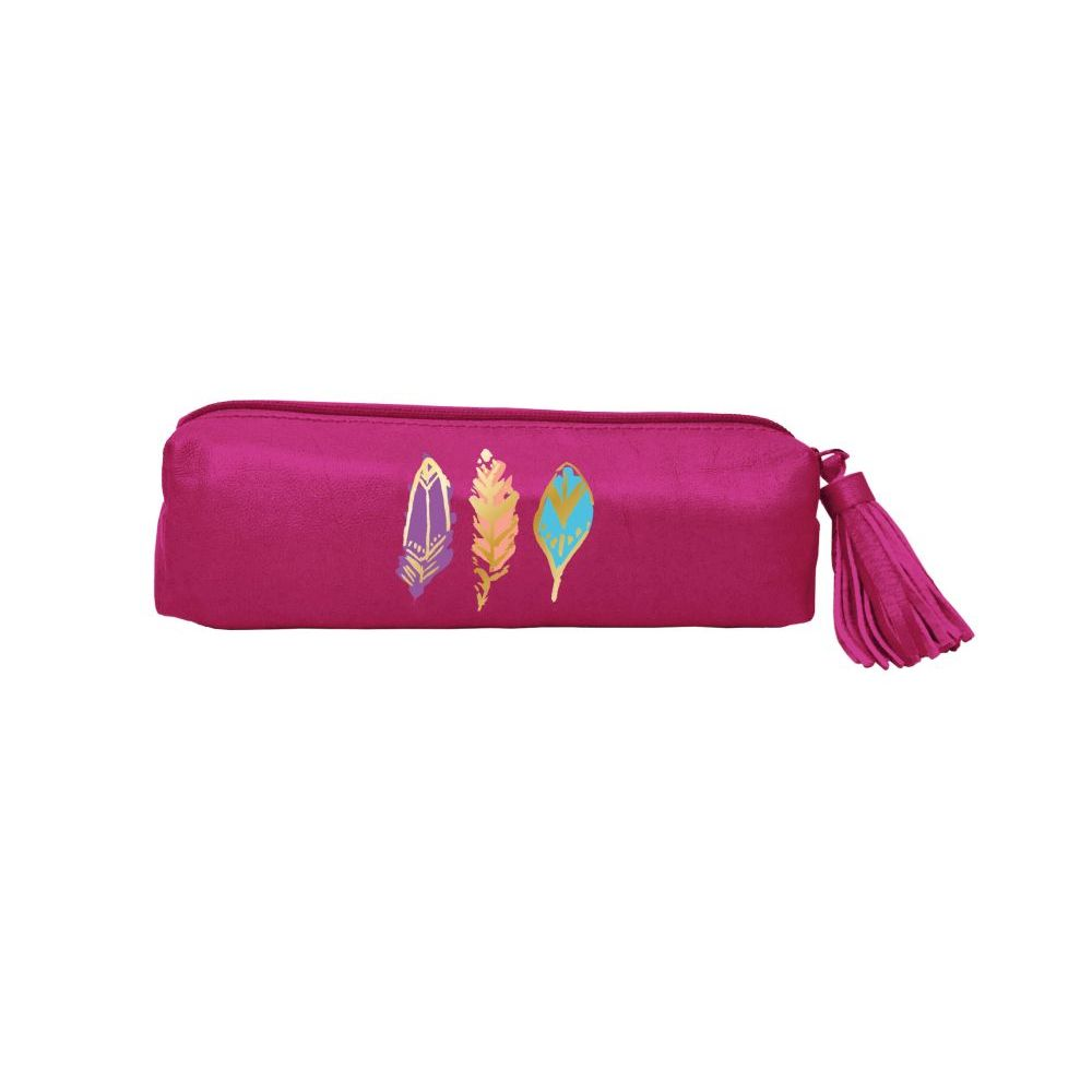 Barbarian-Radiant-Feathers-(Pink)-Accessory-Pouch-1