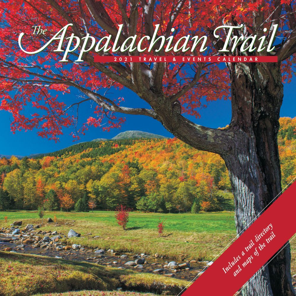 2021 Appalachian Trail Travel & Events Wall Calendar