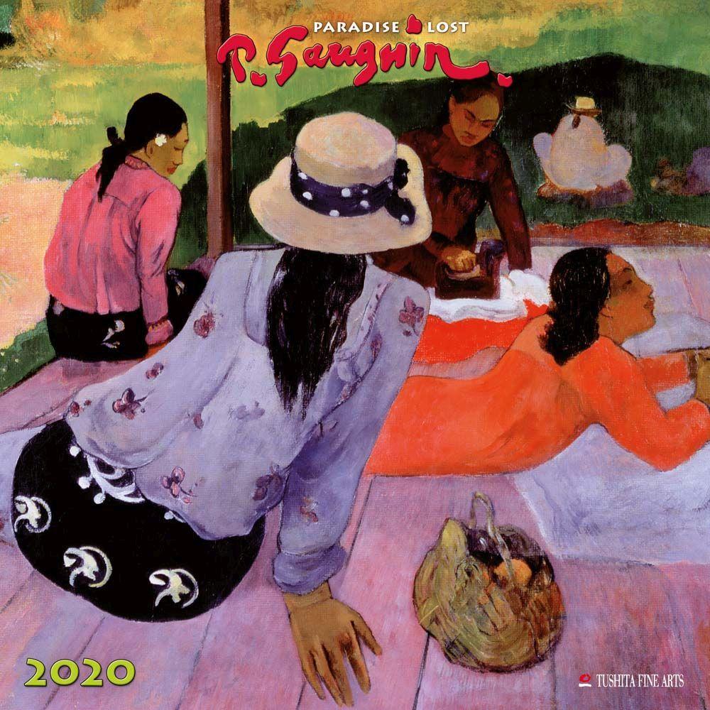 Paul Gauguin Paradise Lost 2021 Wall Calendar