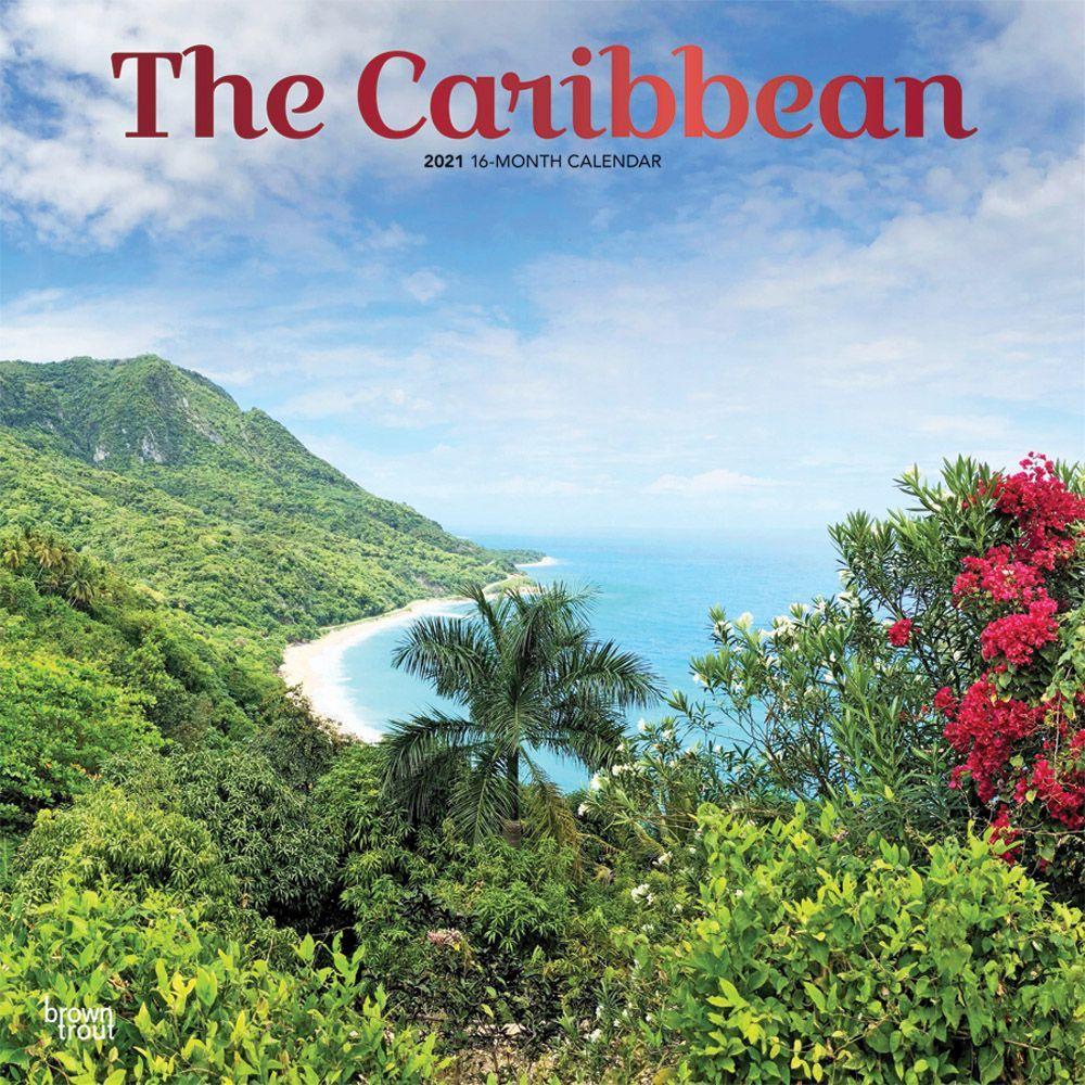 2021 Caribbean Wall Calendar