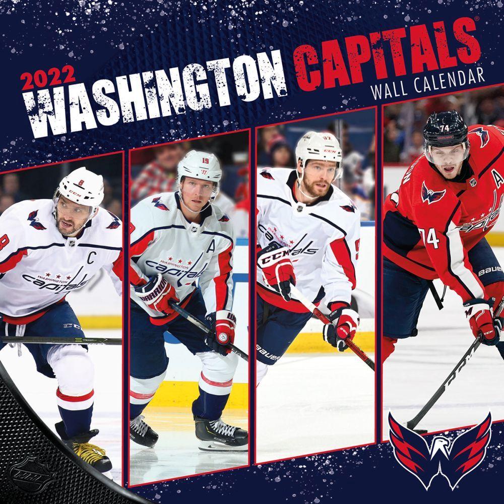 Washington Capitals 2022 Wall Calendar