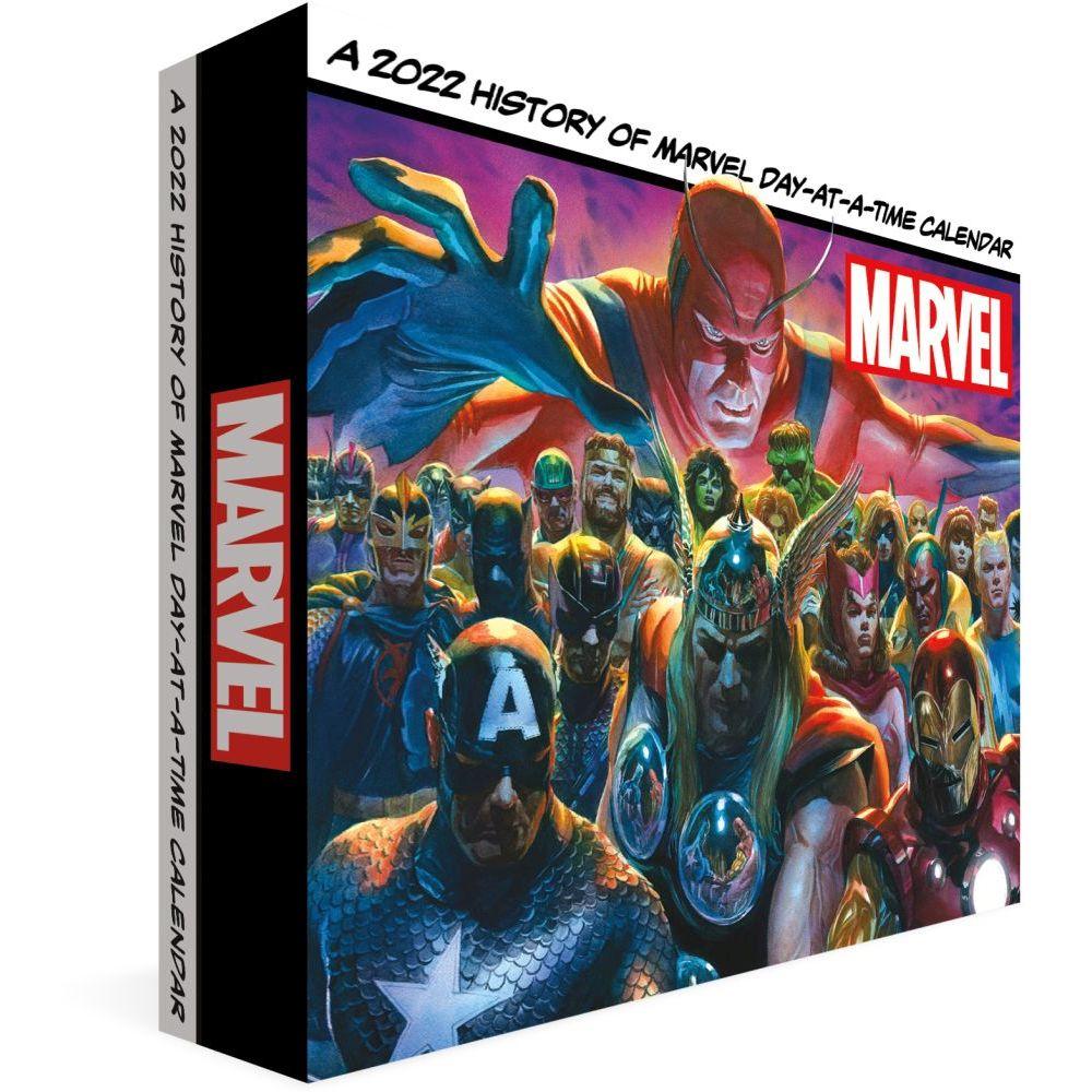 Marvel History 2022 Desk Calendar