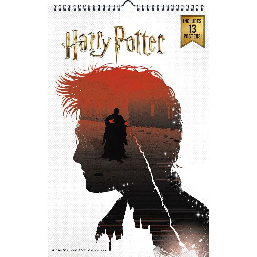 Harry Potter 2021 Poster Wall Calendar