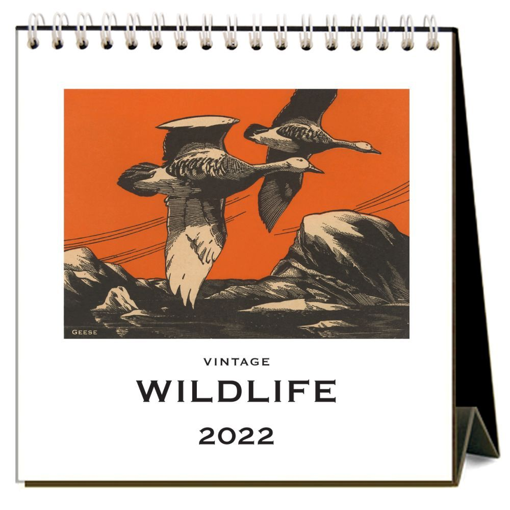 Wildlife 2022 Desk Calendar
