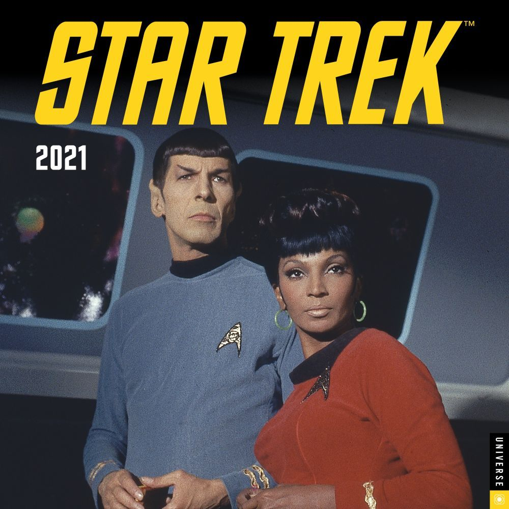 2021 Star Trek Original Series Wall Calendar