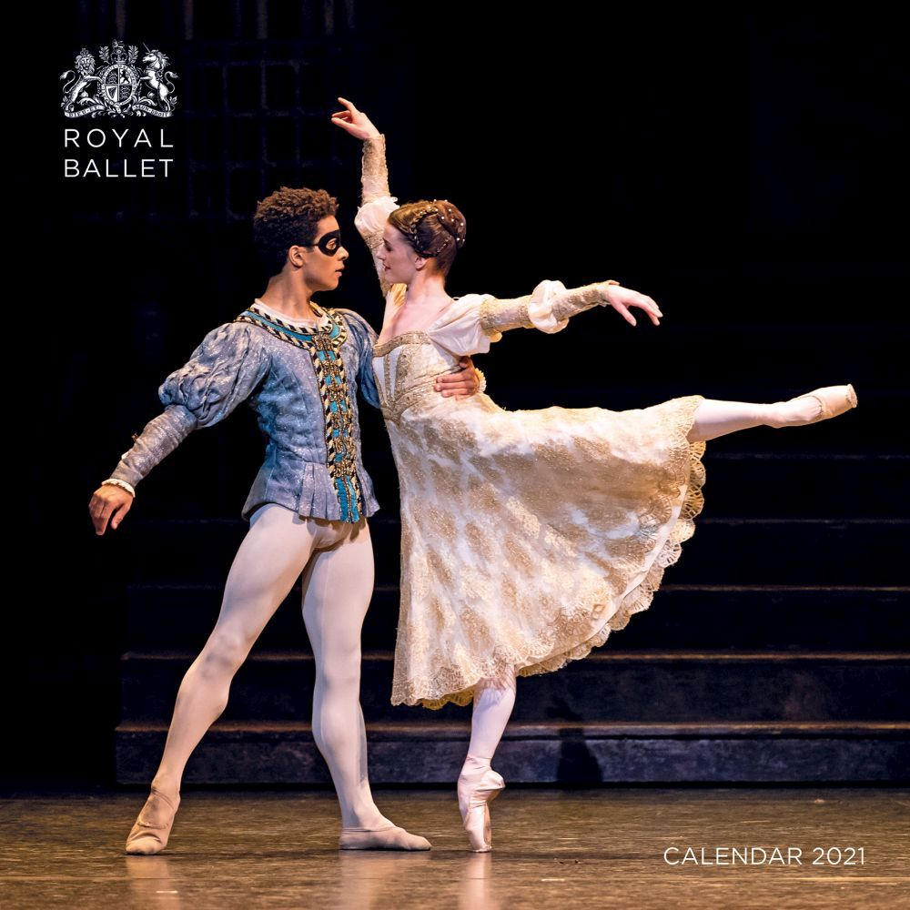 Royal Ballet 2021 Wall Calendar