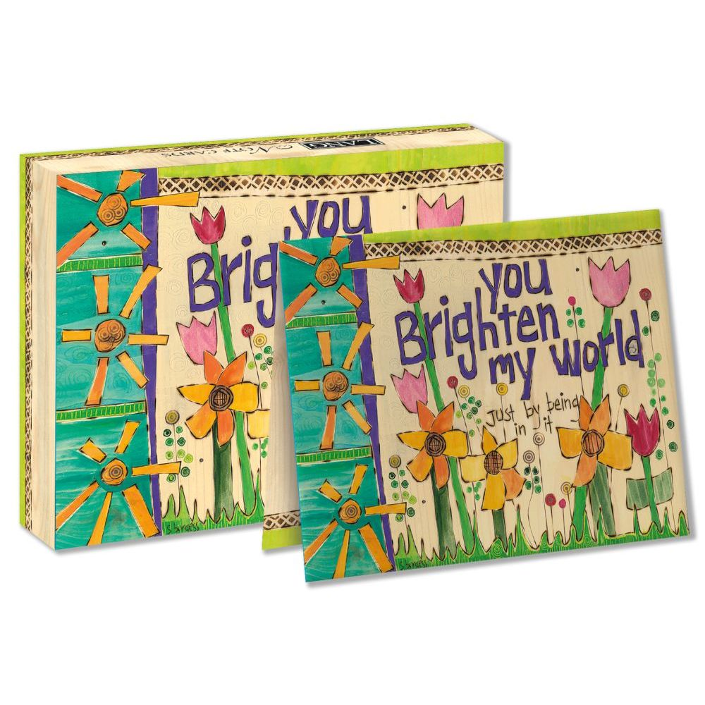 "Brighten-My-World-5.25""-x-4""-Blank-Boxed-Note-Cards-4"