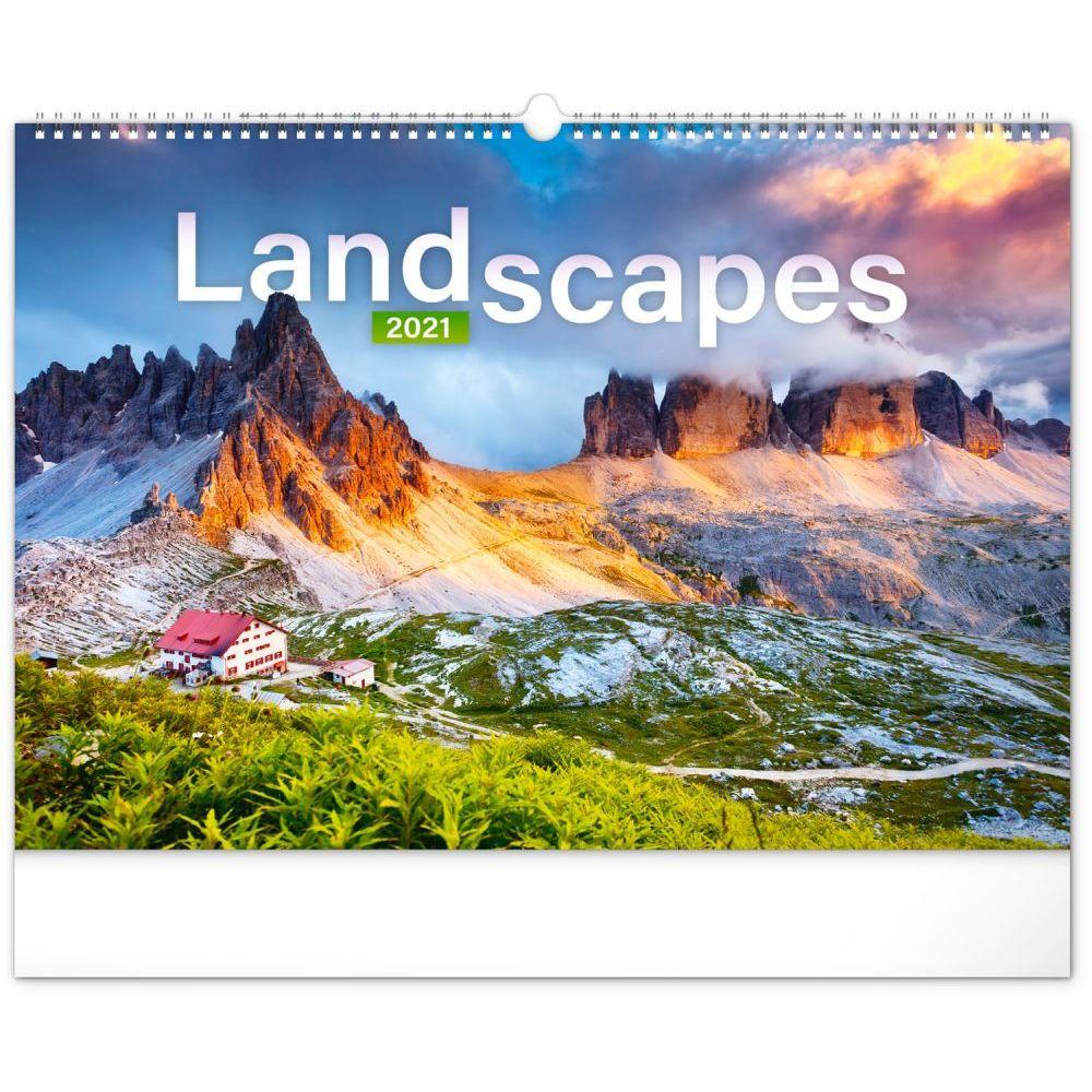 Landscapes 2021 Poster Wall Calendar