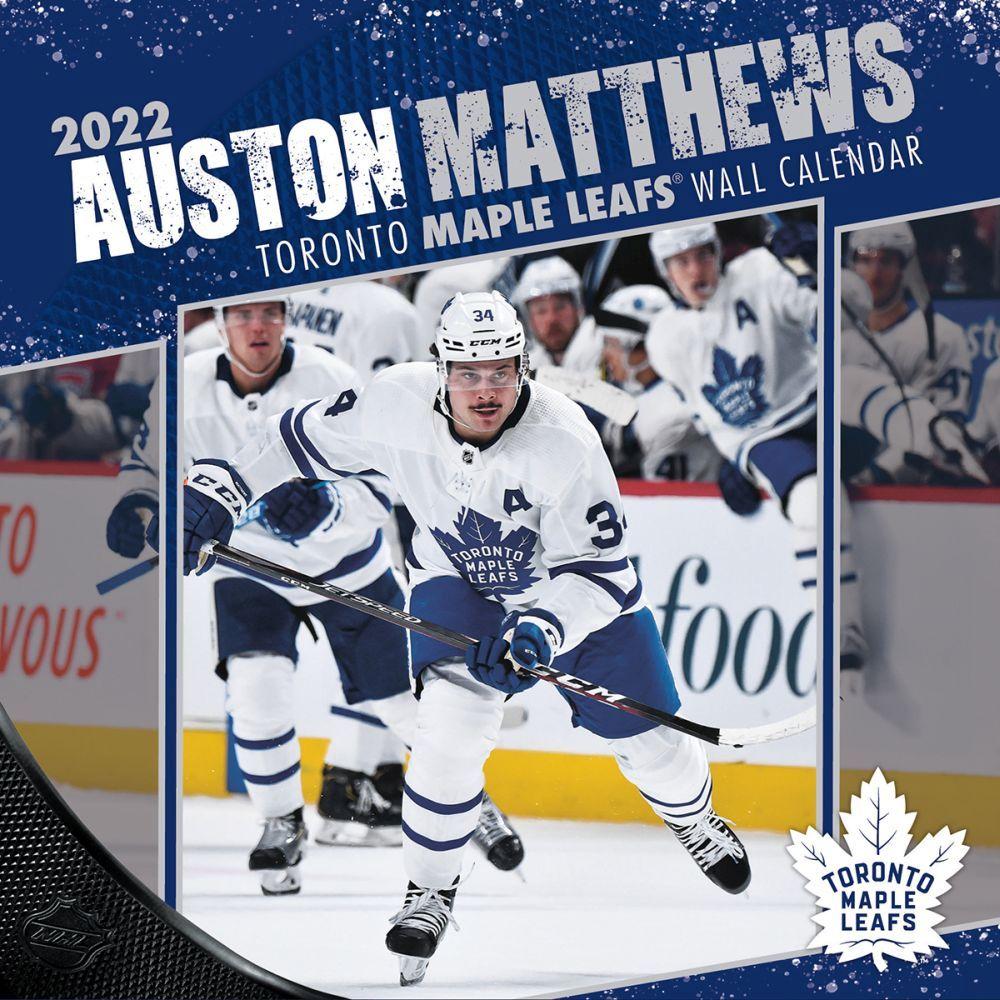 Toronto Maple Leafs Auston Matthews 2022 Wall Calendar