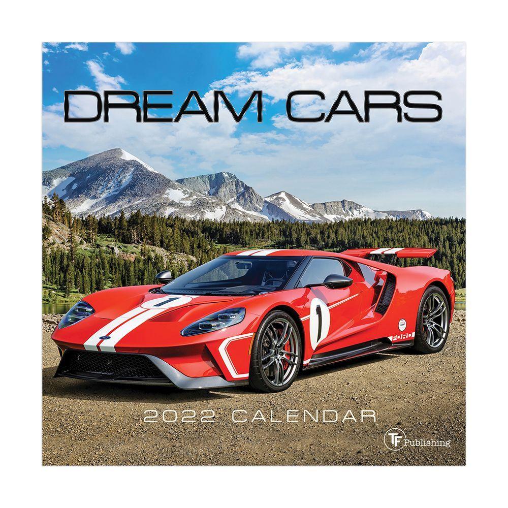 Dream Machines 2022 Mini Wall Calendar