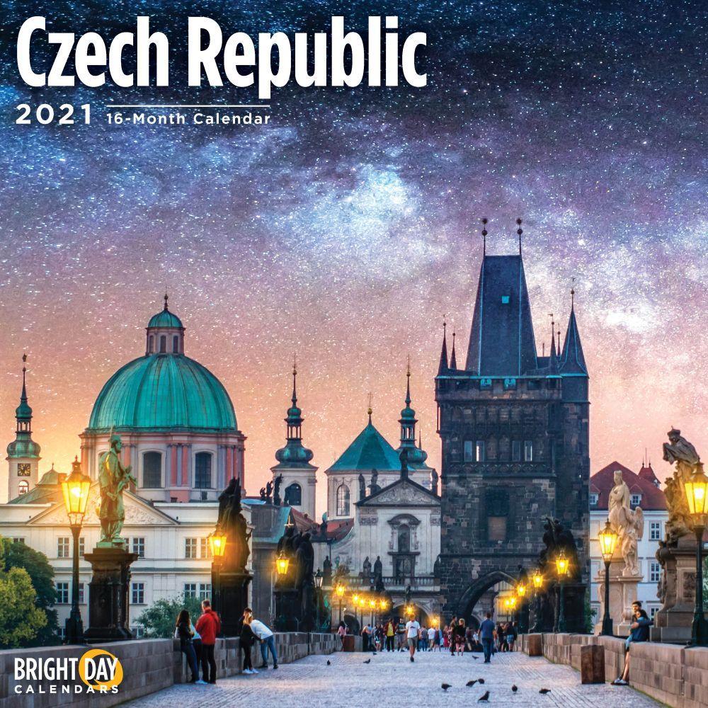 2021 Czech Republic Wall Calendar