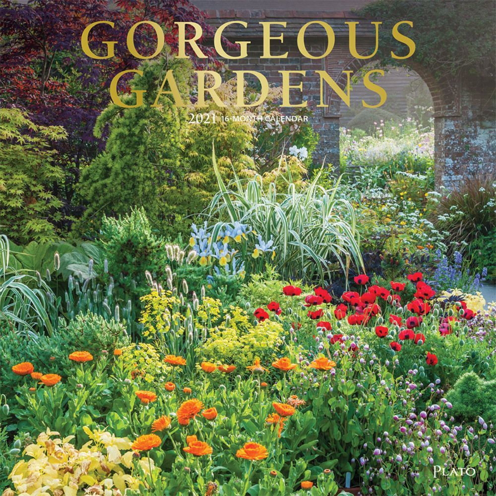 2021 Gorgeous Gardens Wall Calendar