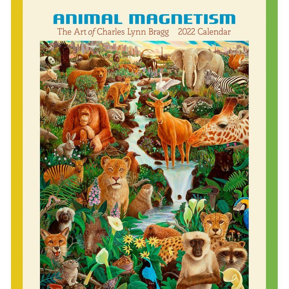 Bragg Animal Magnetism 2022 Wall Calendar