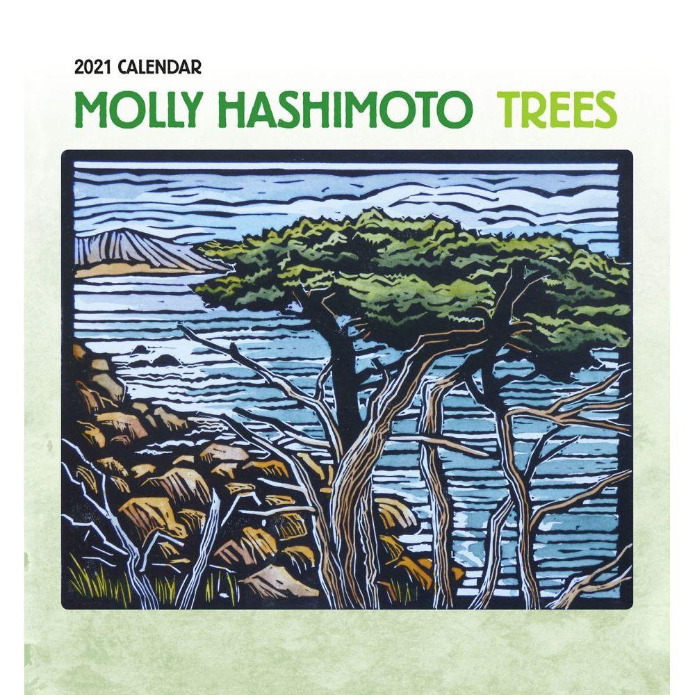 2021 Molly Hashimoto Birds and Blooms Mini Wall Calendar