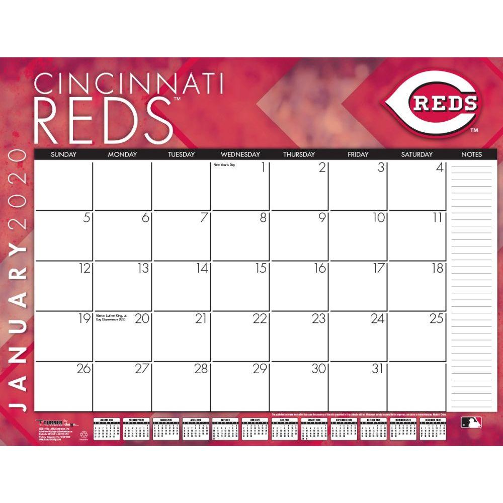Cincinnati Reds 2021 Desk Pad