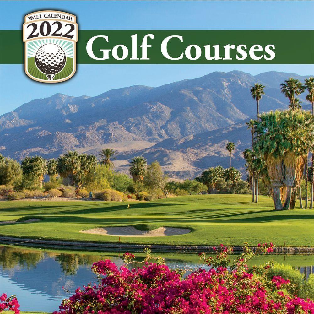 Golf Courses 2022 Wall Calendar