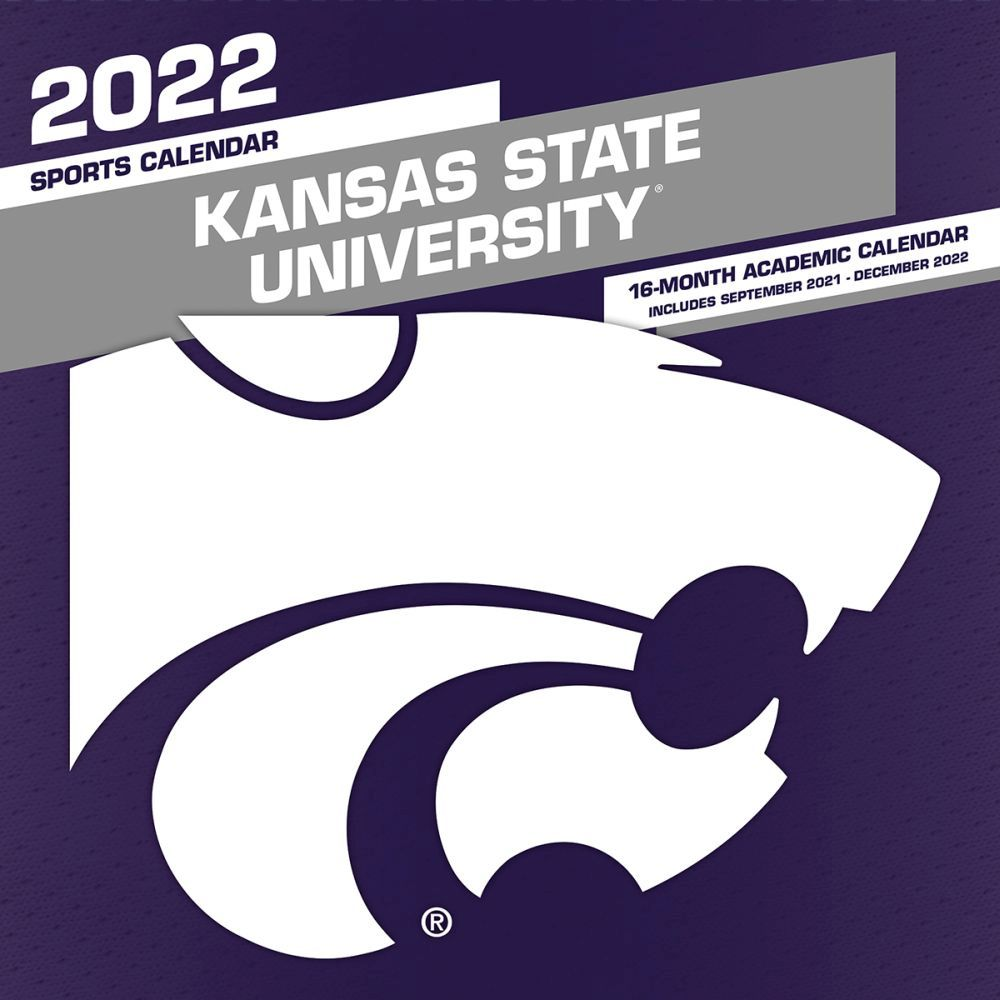 Kansas State University Wildcats 2022 Wall Calendar