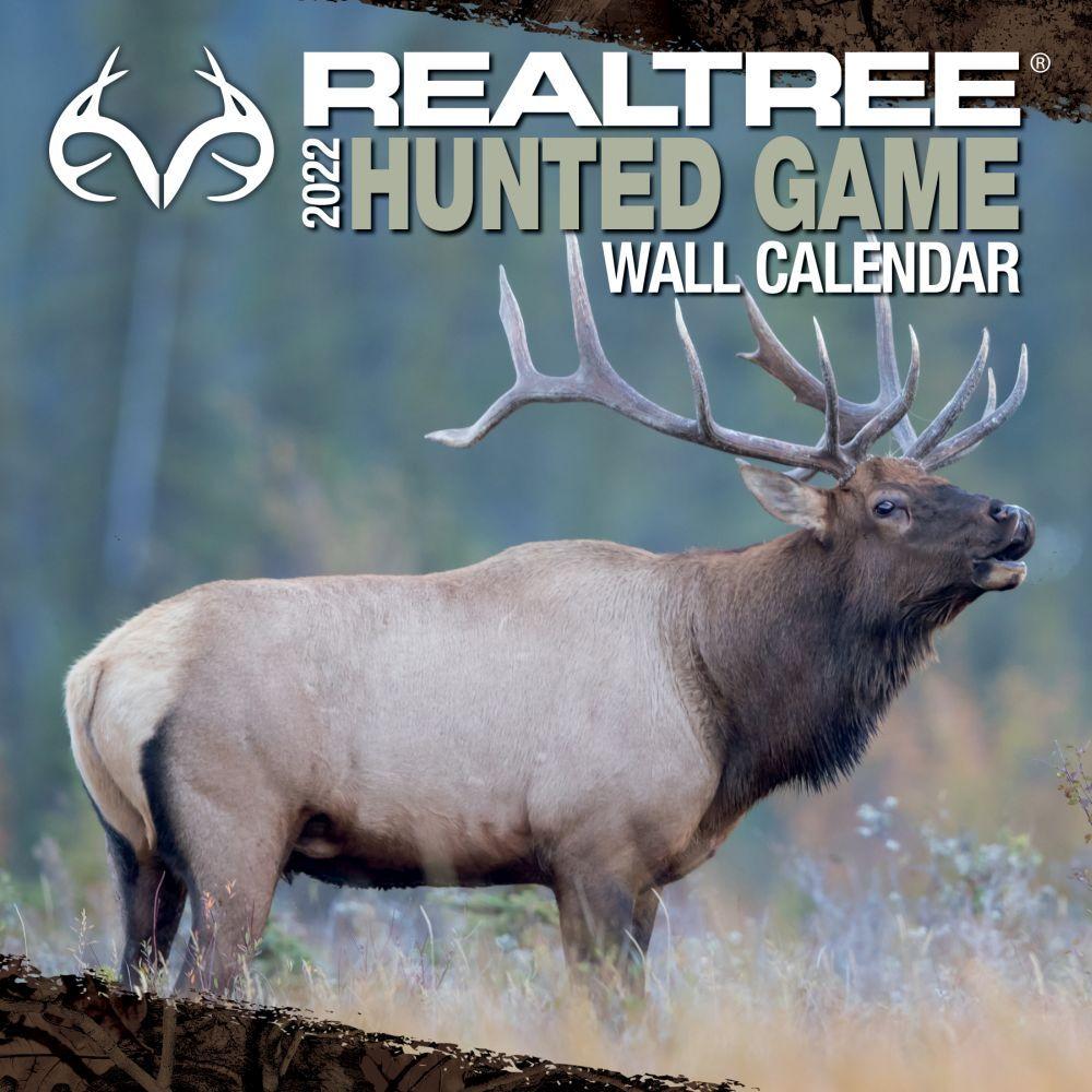 Realtree Hunted Game 2022 Wall Calendar