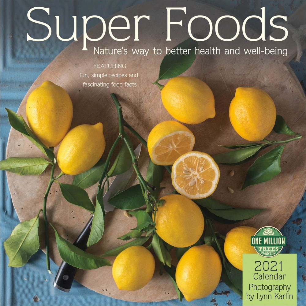 2021 Super Foods Wall Calendar