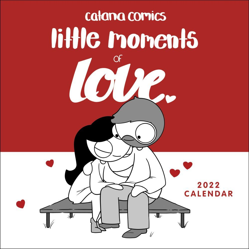 Catana Comics Little Moments of Love 2022 Wall Calendar