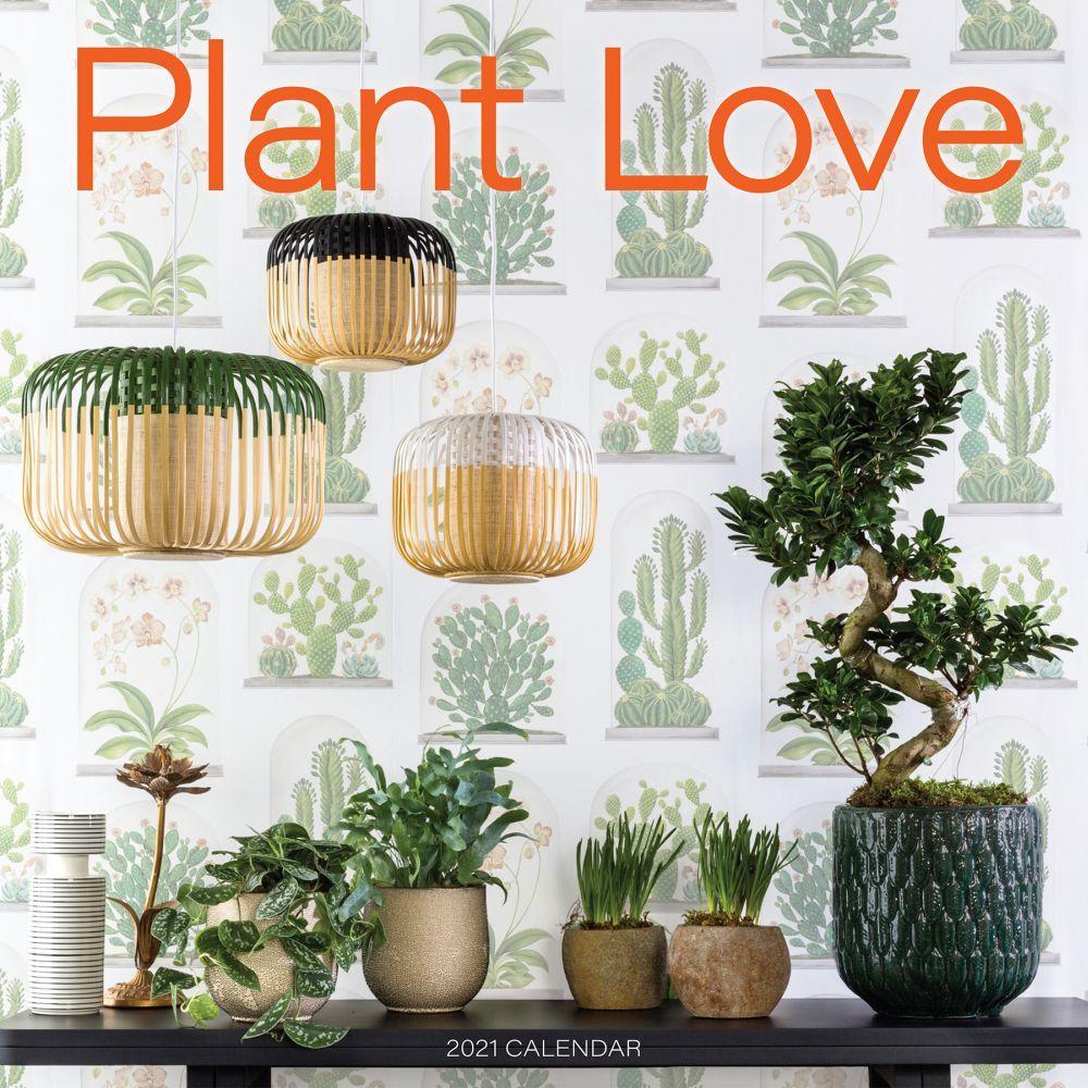 2021 Plant Love Wall Calendar