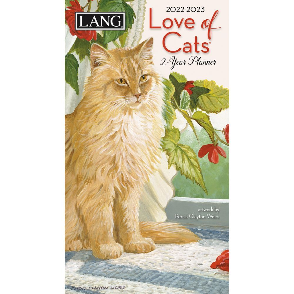 Love Of Cats 2022 Two Year Planner