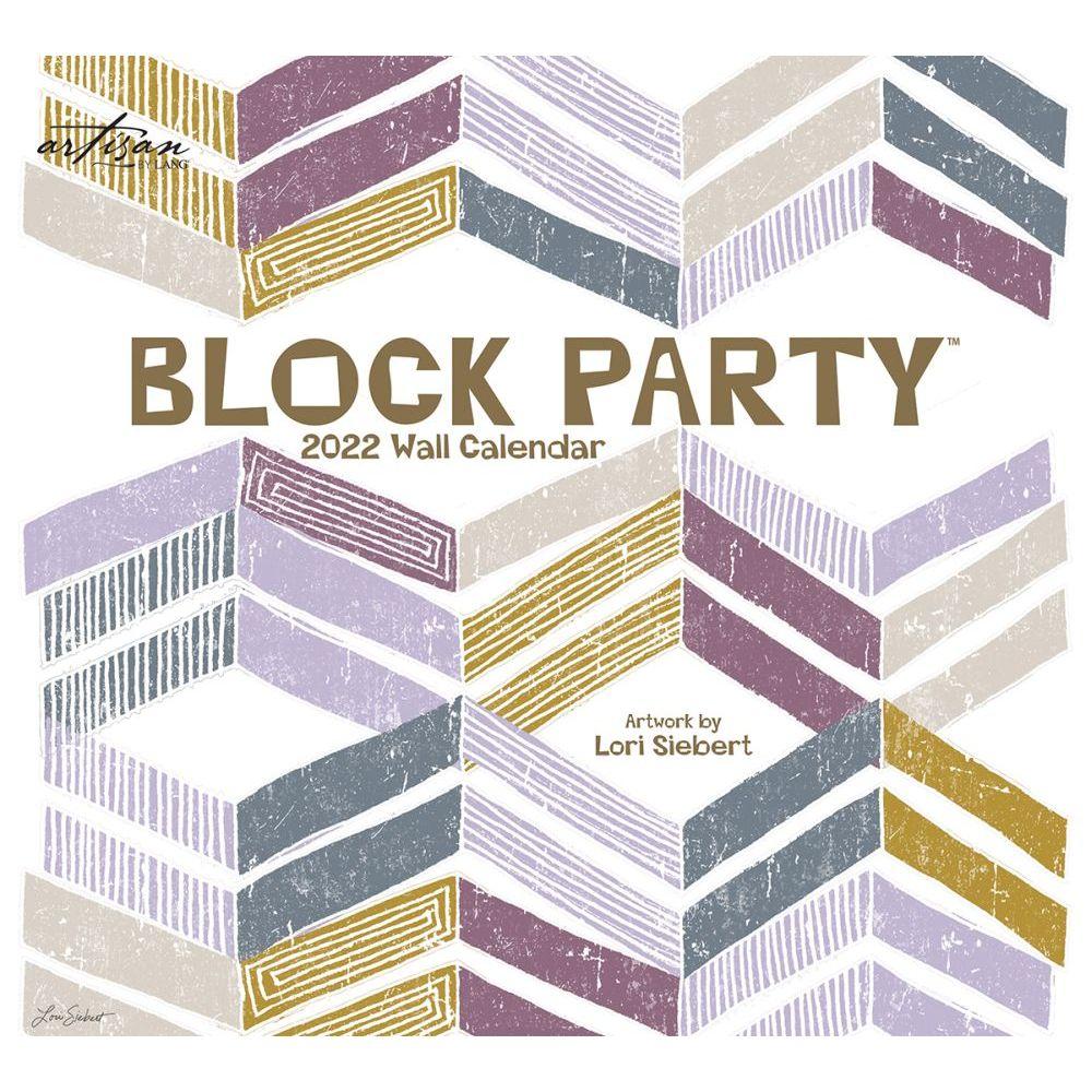 Block Party 2022 Spiral Calendar