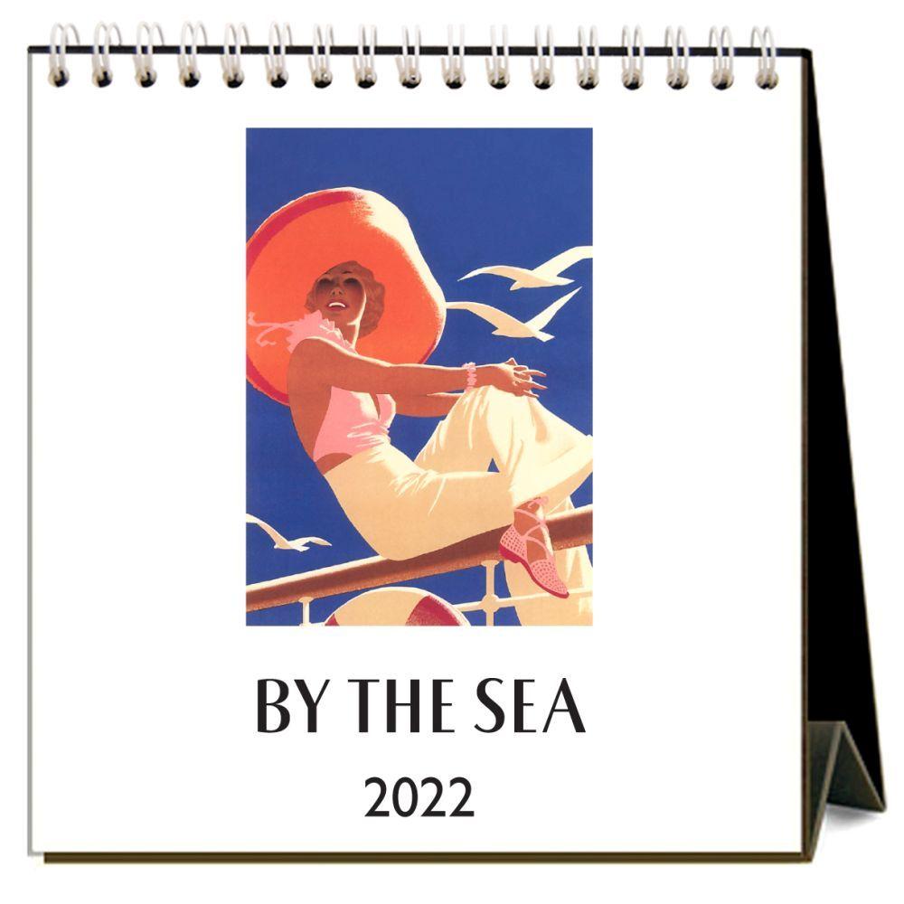 By the Sea 2022 Desk Calendar