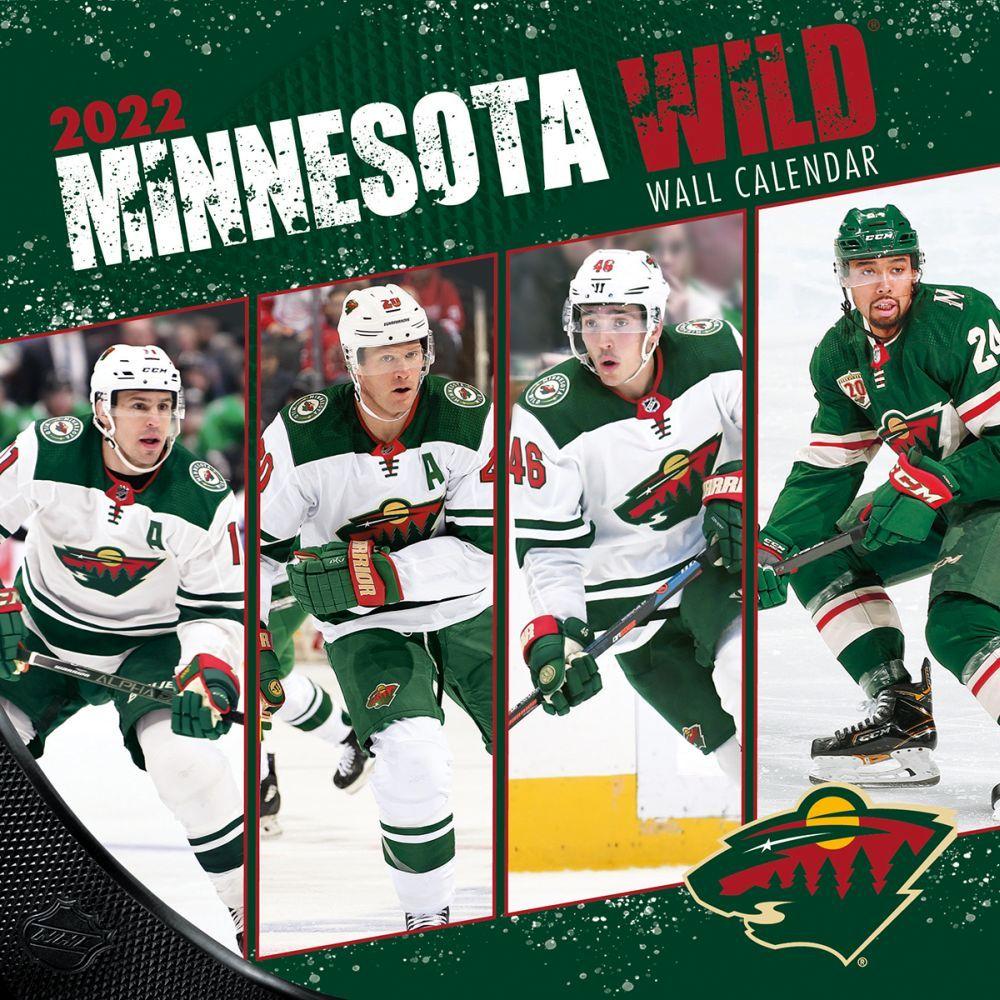 Minnesota Wild 2022 Wall Calendar
