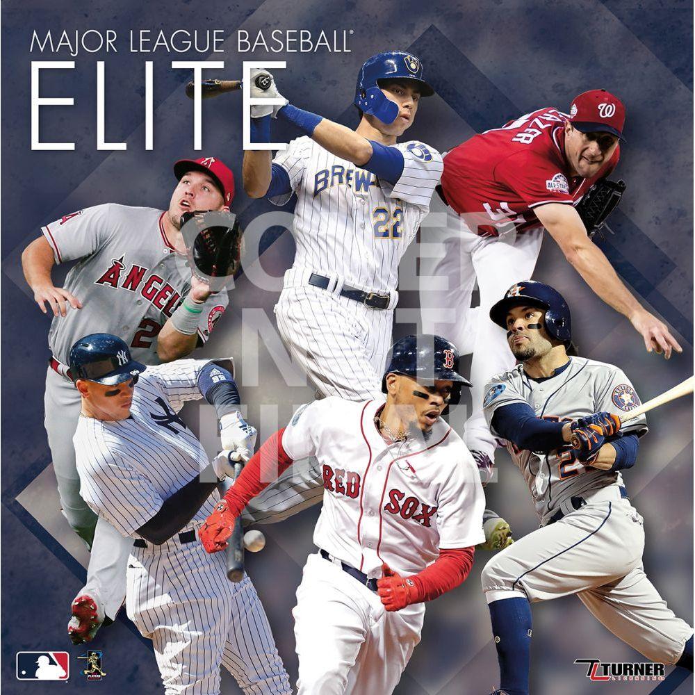 MLB All Stars 2021 Wall Calendar