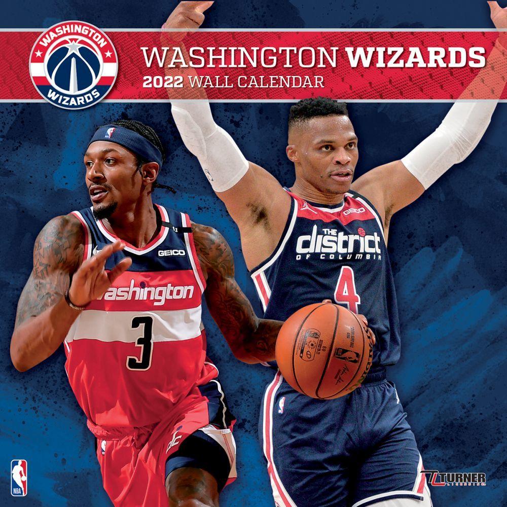 Washington Wizards 2022 Wall Calendar